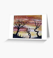 'Outback' Greeting Card