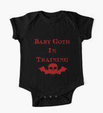 Baby Goth In Training - Kids One Piece - Short Sleeve