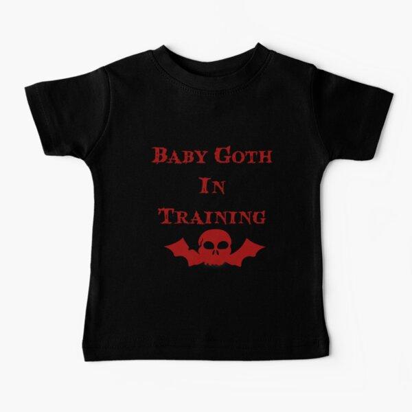 Baby Goth en entrenamiento - Niños Camiseta para bebés