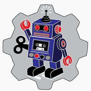 Retro Robot by slugamo