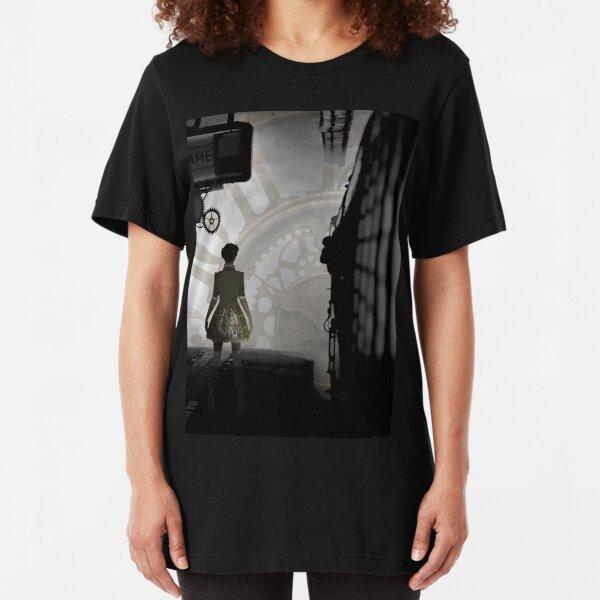 Steampunked Slim Fit T-Shirt