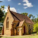Church In Bungendore NSW Australia  by Kym Bradley