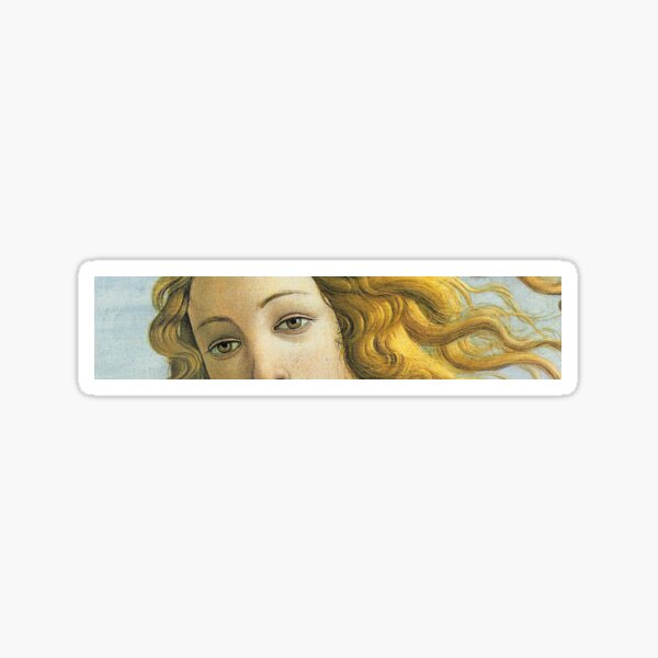 The Birth of Venus: Eyes Only Sticker