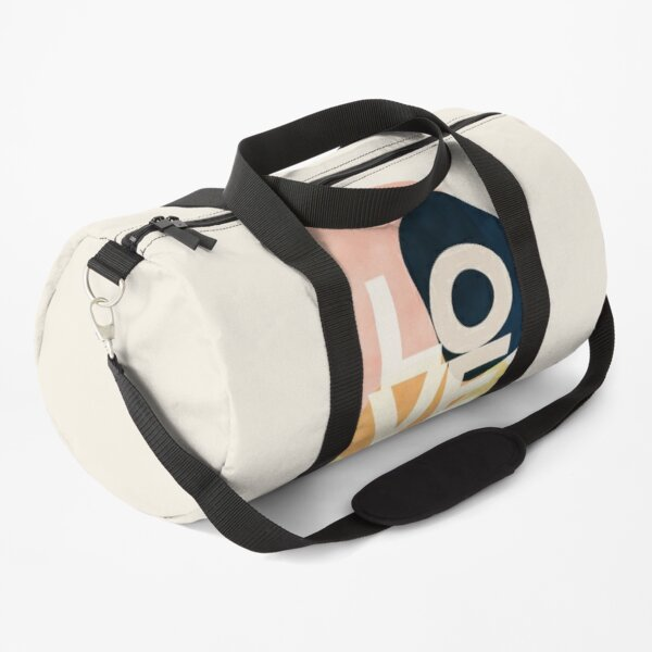Shapes Of Love #redbubble #love  Duffle Bag
