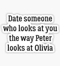Date Someone Who - Polivia Sticker