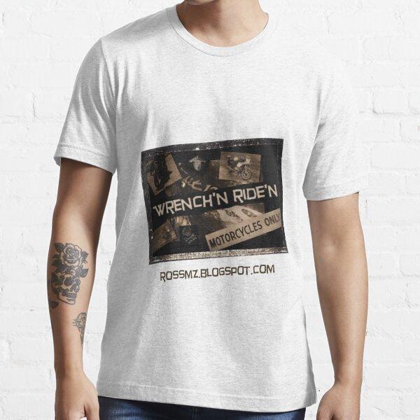 Wrench'N Ride'N blog t-shirt Essential T-Shirt