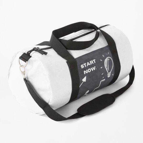 START NOW,FINISH TOMORROW. Duffle Bag