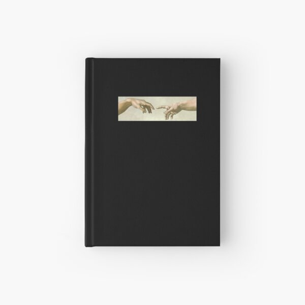 The Creation of Adam: Eyes Only Hardcover Journal