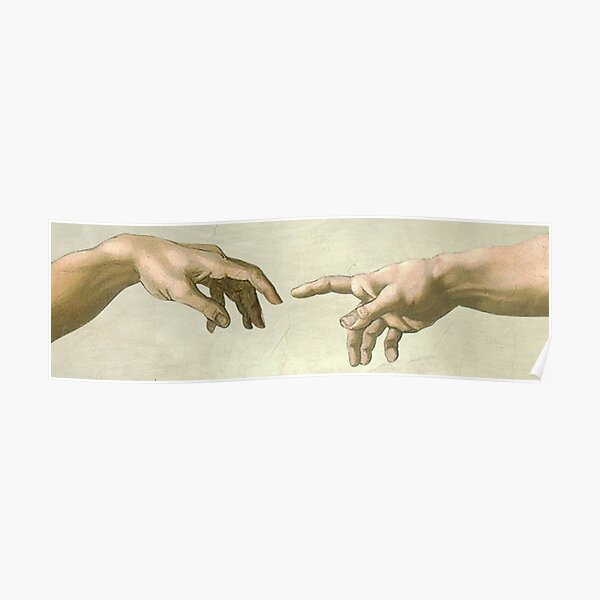The Creation of Adam: Eyes Only Poster