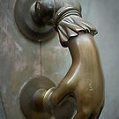 Knocking on the door by Patrick Reinquin