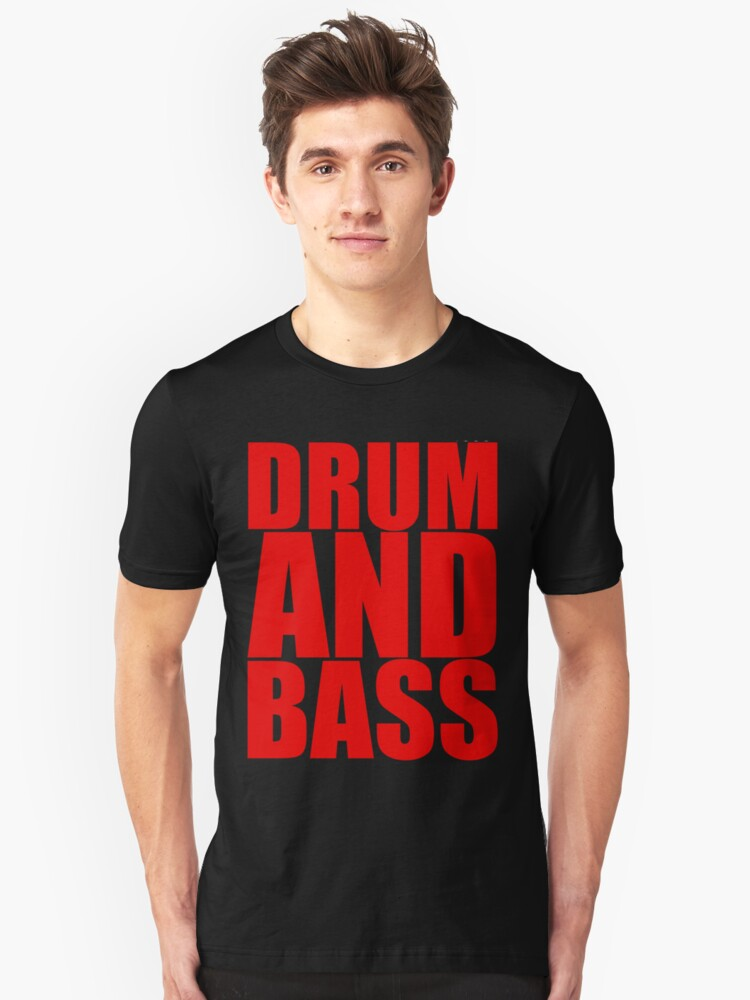 DRUM AND BASS  Unisex T-Shirt Front