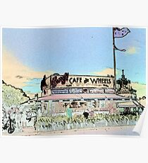Harry's Cafe Woolloomooloo Photopainting Poster