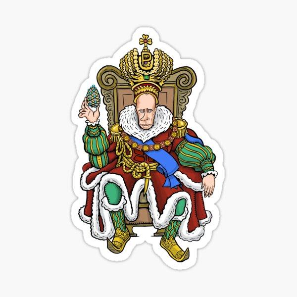 Vladimir Putin, Czar of Russia Sticker