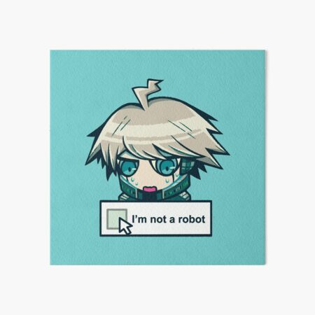 Kiibo (I'm not a robot) Art Board Print