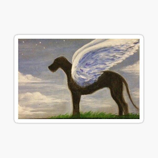 Angel Dog: Great Dane Sticker