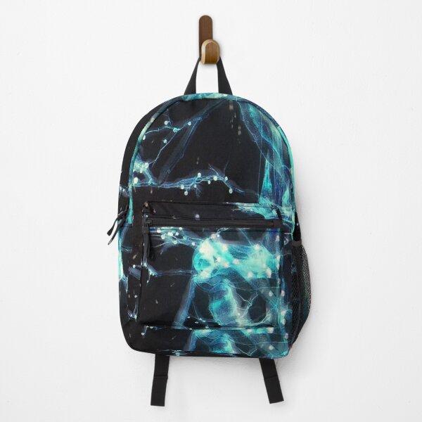 blue lightning Backpack