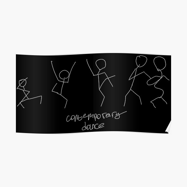 Contemporary dance Poster