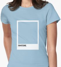 Pantone - Baby Blue Womens Fitted T-Shirt