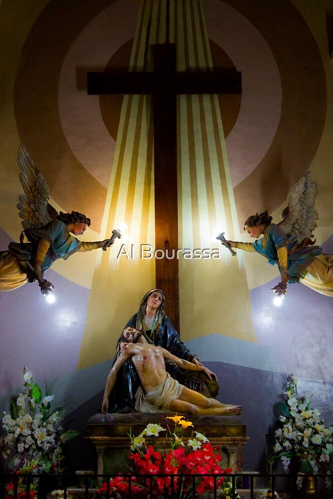 La Pieta, the Crucifixion of Christ by Al Bourassa