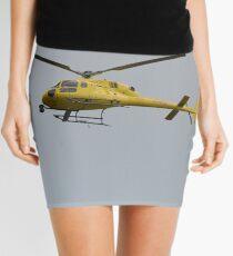 Yellow Helicopter Mini Skirt