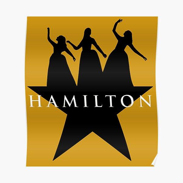 Hamilton Schuyler Sister Logo Poster