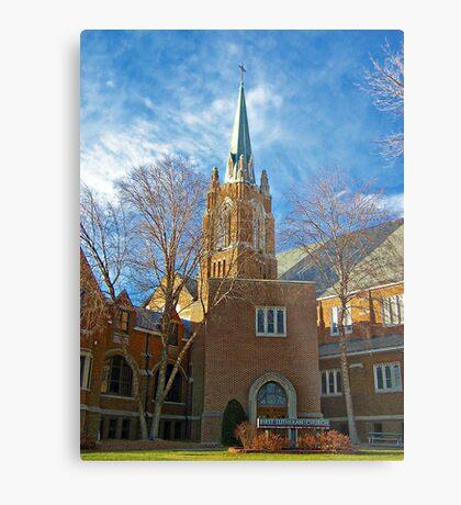 First Lutheran Church Metal Print