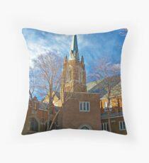 First Lutheran Church Throw Pillow