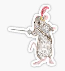 Pegatina Narnia Reepicheep, el más valiente de los ratones