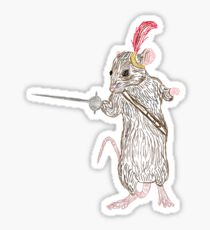 Narnia Reepicheep, the bravest of mice Sticker