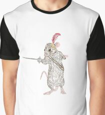 Narnia Reepicheep, the bravest of mice Graphic T-Shirt