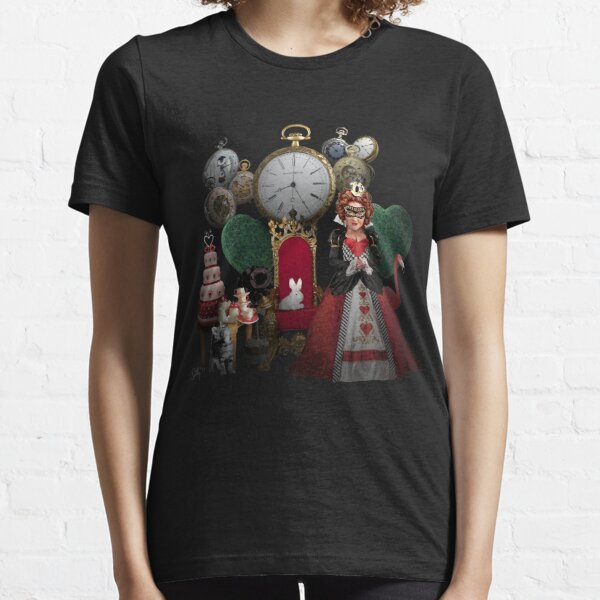 Alice in Wonderland Queen of Hearts Re-imagined Essential T-Shirt