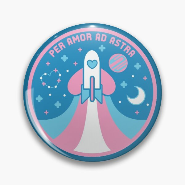 Space Pride - Transgender Flag Pin