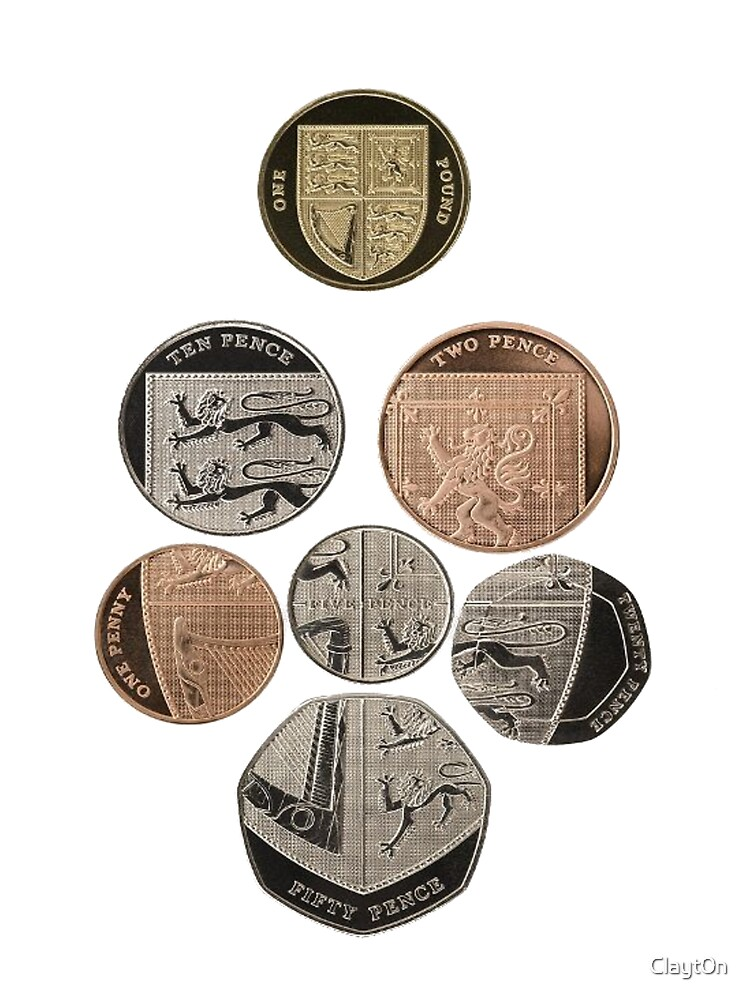 new uk coins shield