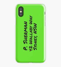 P. Sherman Wallaby Way iPhone Case/Skin