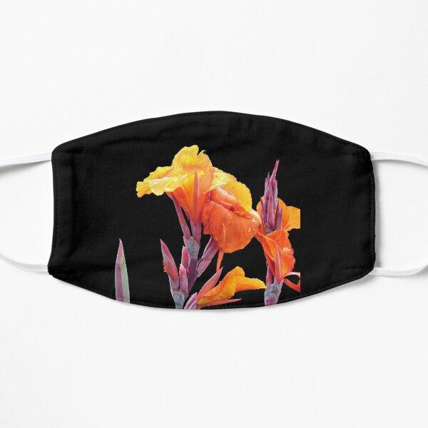 Orange Canna Lily Flat Mask