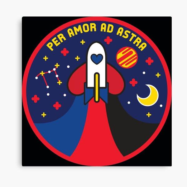 Space Pride - Polyamory Flag Canvas Print