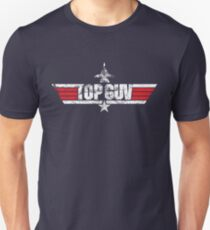 Custom Top Gun Style - Top Guv Unisex T-Shirt