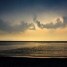A Dark Forboding Sunset by Mikell Herrick