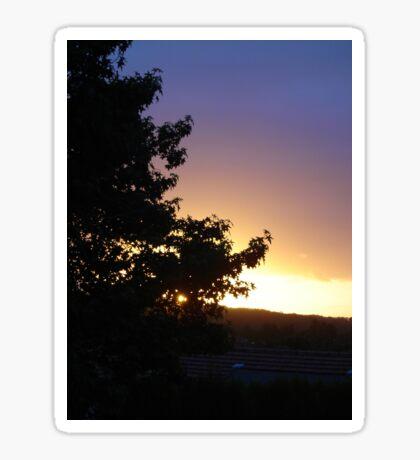 Super Sunset Sticker