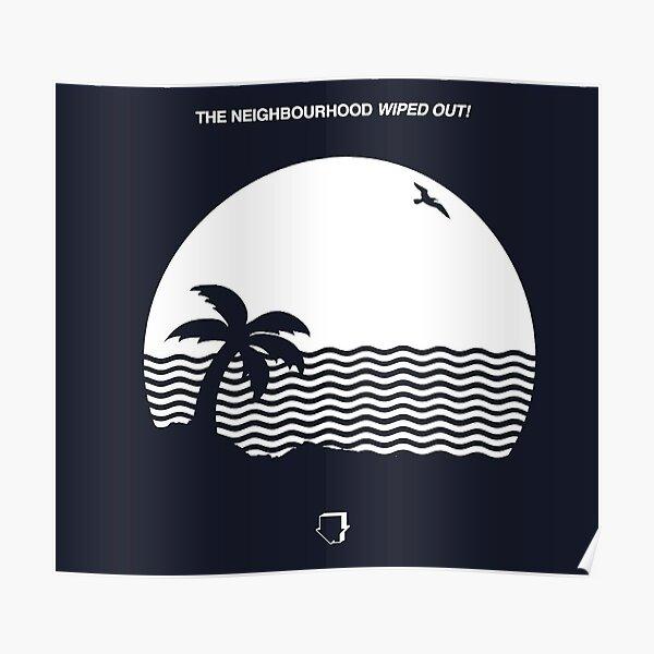 Le quartier - Couverture d'album anéantie Poster