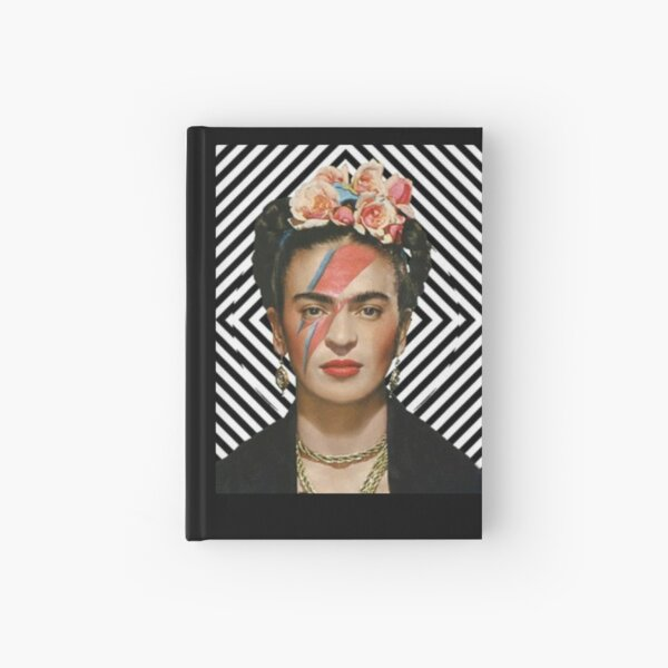 It's Frida and Bowie Hardcover Journal