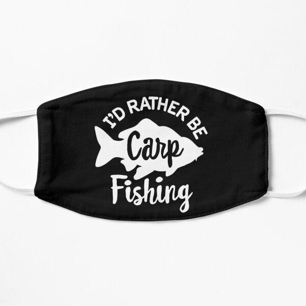 I'd rather be Carp fishing Carp fisher Carphunter Mask