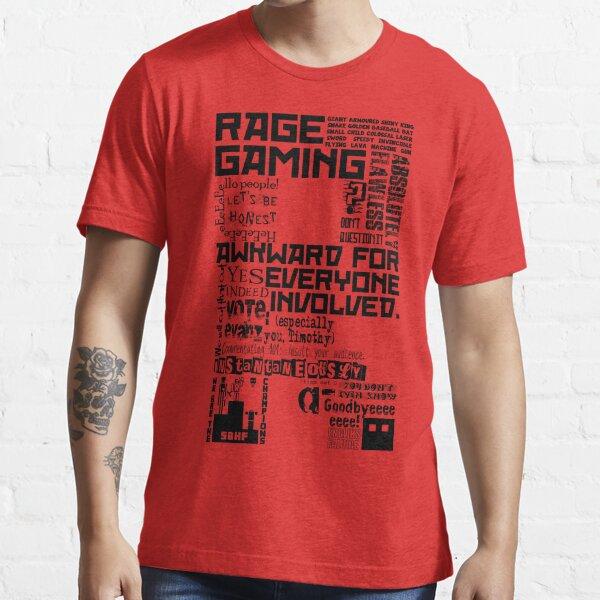 Rage Medley - Black Essential T-Shirt