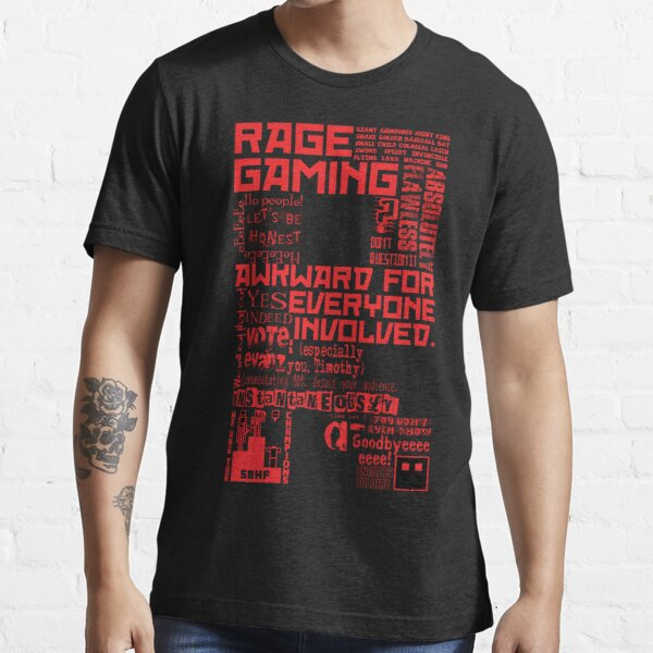 Rage Medley - Red Essential T-Shirt
