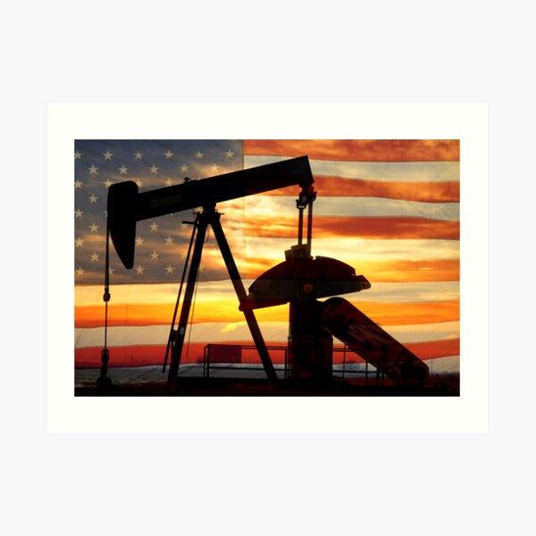 American Oil  Art Print