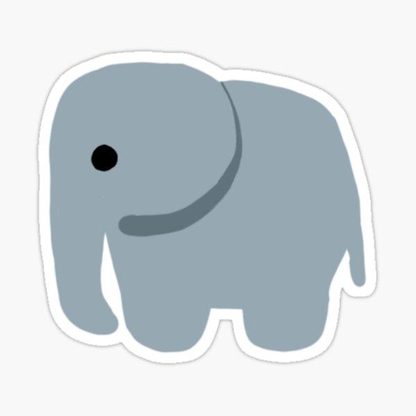 tiny elephant Sticker
