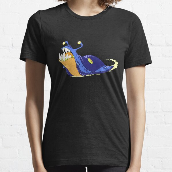Toothy Slug - Blue Essential T-Shirt