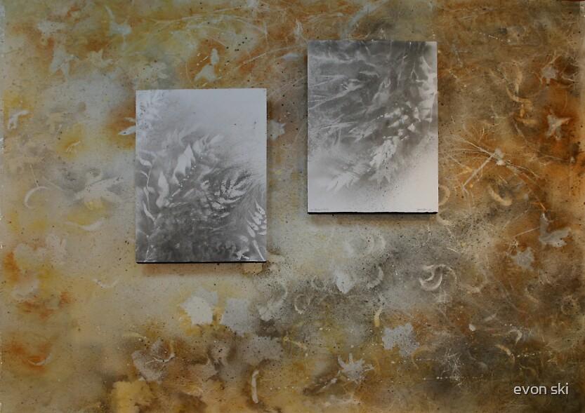 layers of work by evon ski