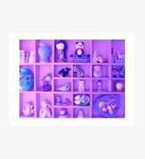 Lavender Curios and Trinkets Art Print