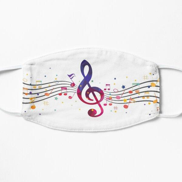Note de musique Masque sans plis
